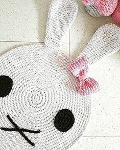 Hand Crochet, Crochet Baby, Knit Rug, Crochet Carpet, Crochet Rug Patterns, Crochet Elephant, Handmade Headbands, Crochet Projects, Rugs