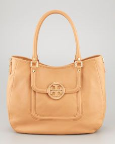 Classic Amanda Hobo Bag, Tan