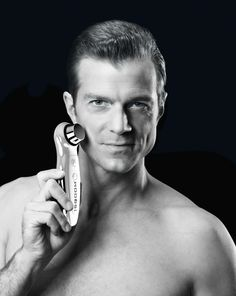 SQOOM is also suitable for man! Wellness, Anti Aging, Medical, Skin Care, Beauty, Spa, Ultrasound, Face, Ad Home