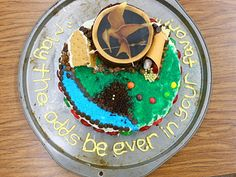 More Hunger Games inspired cakes for creative projects. Yummy!! @Abbigail McWilliams