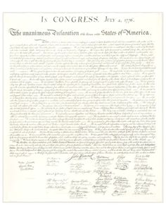 The Declaration of Independence Declaration Of Independence, American History, Revolution, Words, Us History, Horse