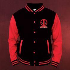 Deadpool - Logo College Jacke in S