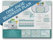 the startup garage sample one page business plan icon Sample Business Plans