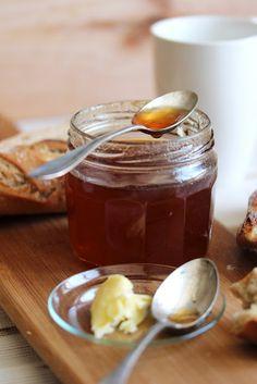 Gelée de pommes au thé