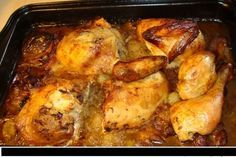 Gene's always been game for my experiments and new recipes but once in a while he makes a request for comfort food: meatloaf, oven fried chicken, chicken livers, etc. Oven Fried Chicken, Roasted Chicken, Top Recipes, Cooking Recipes, Recipies, Winner Winner Chicken Dinner, Chicken Livers, Fries In The Oven, Russian Recipes