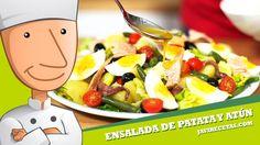 Ensalada de Patata y Atún - Javi Recetas
