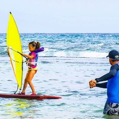It's so great when dad can teach you how to windsurf. If not - WE can teach you on our WhipperCamps around the World   #WorldWideWhipper #Kidsfirstwindsurf #KidsonWater #Windsurfing #AlohaWhipper #WhipperFamily #Kidshavingfun Windsurfing, Surfboard, Friends Family, Dads, Fathers, Surfboard Table, Surfboards