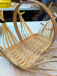 Base of Williamsburg market basket