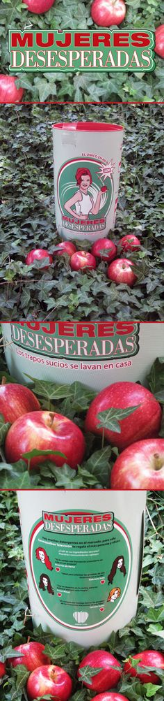 Desperate Housewives for #juice #packaging by Graciela Cancio, via Behance PD