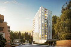 Galería - Richard Meier diseña edificio residencial en Bogotá, Colombia - 1