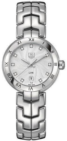 Best Rated Watches 5: Tag Heuer Link Diamond Mother of Pearl Steel Ladies Watch WAT1411.BA0954, via best watch brands 2013 http://www.facebook.com/photo.php?fbid=169732353193784=a.166821456818207.1073741831.153836184783401=1=1