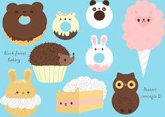 BFB desserts by ~pronouncedyou on deviantART