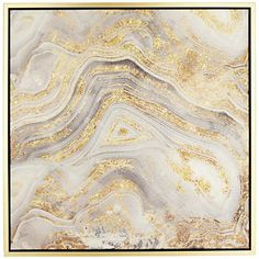 This abstract Golden Sands of Time II wall art delivers natural beauty, evoking a gorgeous slice of agate in shades of beautiful gold and gray. Golden Sands of Time II wall art. Abstract gold and gray color theme. Style # at Lamps Plus. Metal Wall Art, Framed Wall Art, Canvas Art Prints, Canvas Wall Art, Abstract Canvas, Texture, Resin Art, Wall Collage, Decoration