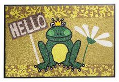 KLEEN-TEX Inloopmat Hello Frog wash + dry