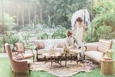 Neutral lounge area with vintage style. - Lounge Seating - Ideas of Lounge Seating - Neutral lounge area with vintage style. Wedding Lounge, Wedding Seating, Chic Wedding, Trendy Wedding, Wedding Table, Wedding Reception, Rustic Wedding, Wedding Shot, Wedding Rehearsal