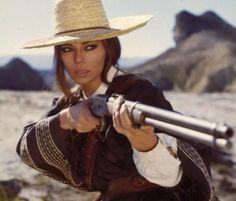 Giovanna Ralli in The Mercenary - A Professional Gun (Il Mercenario) Estilo Cowgirl, Cowboy And Cowgirl, Cowboy Hats, Westerns, Katharine Ross, Pernell Roberts, Western Girl, Oldschool, Raquel Welch
