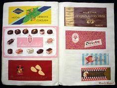 Misch Masch by Simona: Vzpomínání díl Coasters, Retro, Memories, Holiday Decor, Illustration, Nostalgia, Memoirs, Souvenirs, Coaster