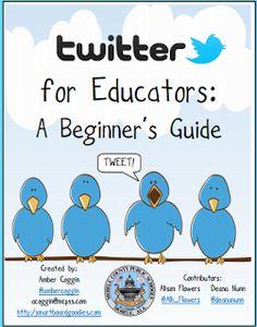 Twitter for Educators Beginner's Guide ~ Educational Technology and Mobile Learning