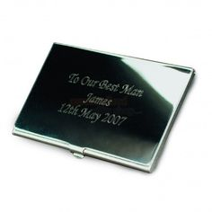 Engraved Business Card Holder from Personalised Gifts Shop - ONLY