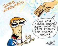 ilustração de Lucas Carvalho - Quem sabe um dia vira realidade ne?
