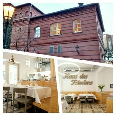 """RESTAURANT ROSS, Mitte - 17th century stable turned out to be an avant-garde restaurant. Hidden in the backyard of  """"Heckmann Höfe"""" you will find this place bright and sophisticated. Even the cutlery is beautiful..."""