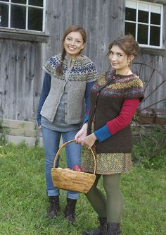 Ravelry: Putney Mountain Vest pattern by Maureen Clark