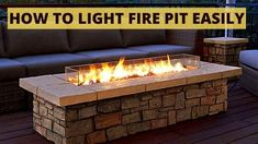 Do you have an outdoor fire pit, but you don't know how to turn on a propane fire pit? Don't look further. You are here at the right place. Iron Fire Pit, Deck Fire Pit, Cool Fire Pits, Gas Fire Pit Table, Fire Pit Backyard, Fire Pit Lighting, Wood Burning Fire Pit, Outdoor Living, Outdoor Decor