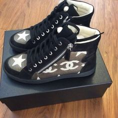 Chanel Logo Sneakers Athletic Shoes 36% off retail