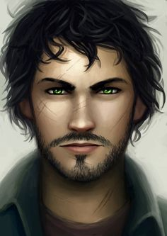 Lunar Chronicles - Wolf (Ze'ev Kesley)........ not at all how I imagined him though