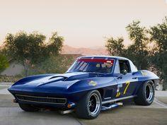 Corvette Sting Ray 427 L88 Trans-Am Race Car (C2) '1967