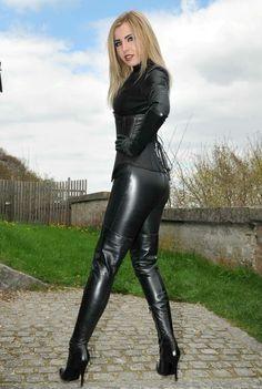 d0803f9e97c7 Lederlady ❤ Leather Leggings