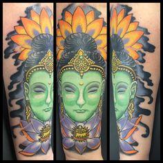 Buddha Tattoo, Asian Tattoo, Buddha, Lotus, Lotus Tattoo, Berlin Tattoo Artists