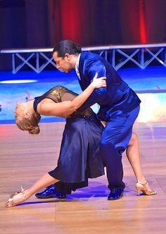 Annibal Castro e Griselda Bressan  Campioni italiani assoluti 2016 categoria Master 35 /44  #RossoLatino #testimonial #master #campioni