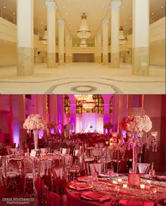 Beautiful transformation of 200 Peachtree for the Atlanta wedding of Kierra Anderson to Falcons WR Harry Douglas by NFL Wedding Planner & Design expert Tiffany Cook  - See more at: http://dreamdesignweddings.blogspot.com/2014/01/stunning-wedding-venue-transformations.html#sthash.JdRiXlR8.dpuf
