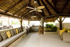 Amazing outdoor space perfect for hosting friends & family! #Gazebo #Garden #OutdoorLiving