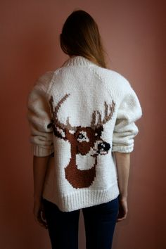 vintage sweater, closetcasevntg (etsy)