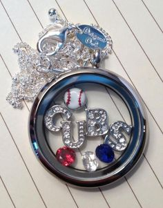 Chicago cubs locket