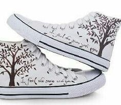 I like the tree art on them!
