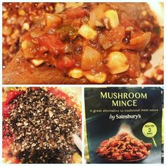 Love this new @sainsburys Mushroom Mince made a veggie chilly for dinner really nice quick to cook & low calorie  #veggie #auntienatnat #chilly #chillyconcarne #sainsburys #mushroommince #vegetarian #vegetarianfood