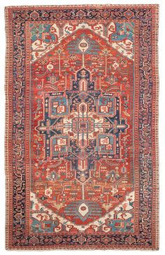 Serapi Antique Rugs Number 13146, Antique Persian Rugs | Woven Accents