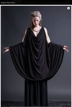 Nokken Maxi Dress by Sisters of the Black Moon... Only $290... If I only had the money...