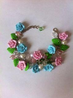 pandahall.com  #flowerbracelet #beadsbracelet  #pandahall