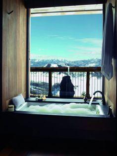 Cinco banheiros de hotéis com vistas para lá de deslumbrantes