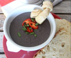 Recipe Caldo de feijao preto (Black bean soup) by Thermomix in Australia - Recipe of category Soups Whole Food Recipes, Soup Recipes, Cooking Recipes, Thermomix Soup, Black Bean Soup, Cooking Black Beans, Recipe Community, What To Cook, Bacon