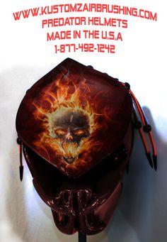 #custom #Kustomz #predator #predator #helmets pre-fabricated, l.e.d.s inner d.o.t. shell. #predator #helmet .#www.kustomzairbrushing.com #motorcyclehelmet #customhelmet #airbrushing #airbrushed #airbrushedhelmet #predatormotorcyclehelmet #predatorhelmet #custommotorcycle #motorcycle #helmets 1-877-492-1242 #kustomzairbrushing . www.amazon.com/.... just the best helmets ever made. #kustomzairbrushing #predator helmet official review