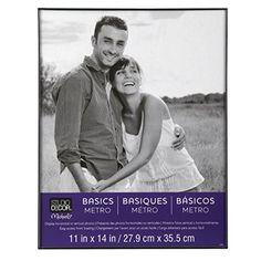 basics metro frame 11x14 in black by studio decor studio decor http - Metro Frames