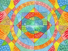 as a quilt pattern? (http://www.imagekind.com/Sacred-Geometry-art?IMID=75d8ea66-ddf7-459e-940c-42cfc31db6b6)