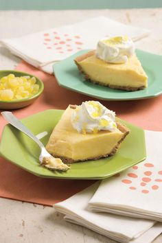 Lemonade Pie: The perfect summer dessert, this easy-to-make pie is loaded with sweet-tart citrus flavor. Frozen lemonade concentrate is one of the secrets to its fast and creamy filling.