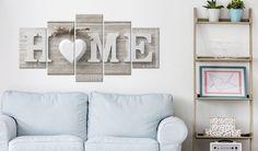 Impression sur toile 200x100 cm - XXL Format! 5 parties - Image sur toile - Images - Photo - Tableau - motif Moderne - Décoration - pret a accrocher - m-A-0685-b-m Home 200x100 cm B&D XXL: Amazon.fr: Cuisine & Maison