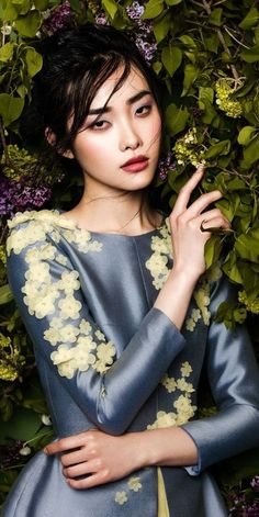 Kwak Ji Young by Zhang Jingna for Phuong My Spring/Summer 2015 Collection:
